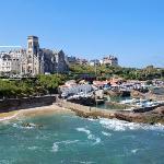 Emplacement de l'hôtel - Biarritz centre et plages à pied