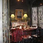 Private group dining area