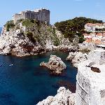 Dubrovnik avec vue de sa citadelle