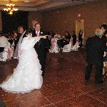 The ballroom was magical!