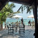 view beach bar/restaurant