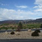 Blick vom Hotel Parkplatz aus