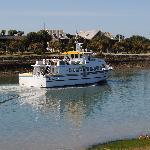 balade le matin sur le vieux port
