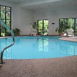 Beautiful indoor pool!