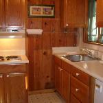 Cottage kitchen room/suite 8