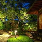 garden with Traditional japanese style 16tatami Deluxe Garden room