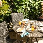 Breakfast on the South Patio