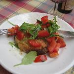 bruschetta pomodoro crudo