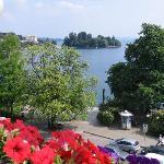 vista lago da camera