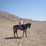 Riding by Luxor West Bank