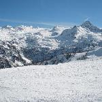 Plenty of snow in La Thuile