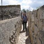 Walking the ramparts