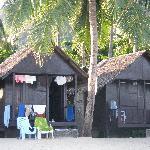 Beachfront bungalow.