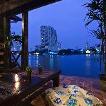 Balcony with Chao Phraya River View