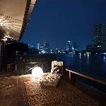 Panoramic view of Chao Phraya River
