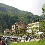 Hotel Europa (Bildmitte) an der Uferpromenade