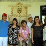 En Cartagena con Marelvy Peña Hall
