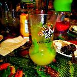 mango mojito w/ this glass as a souveneir!