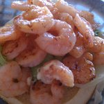 """Grilled"" Shrimp Sandwich"
