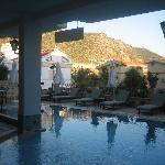 Evening - Yeni Korsan pool