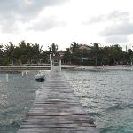 View of Paradise Villas from the dock