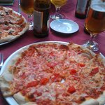 Fantastic vegetarian pizza