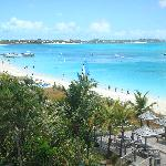 Gorgeous Grace Bay from our balcony