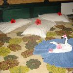 decoration de notre lit