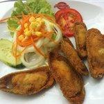 Deep Fried Mussels