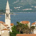View of the Charming Old Town of Budva