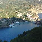 View of Assos from the castle
