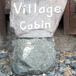 Charming sign posting for cabins