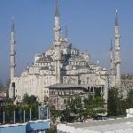Blue Mosque from Breakfast room
