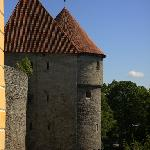 Old town towers