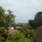 Une vue à partir de la terrasse