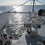 Retour de Petite Terre en catamaran