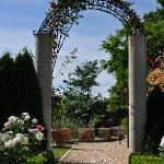 Entry To One of The Many Gardens