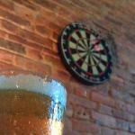 Beer and darts