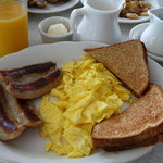 Eggs, Toast & Sausage at Royal Treat 2011
