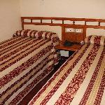Hab. doble sencilla con dos camas