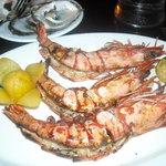 dead prawns