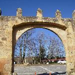 entrada al monasterio,veruela