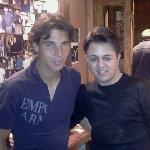 Rafael Nadal con Francesco