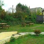 Our wonderful beer garden!