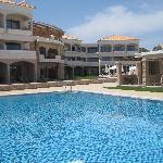 La piscine... calme en mai ;-)