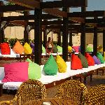Beach bar seating (Chill out)