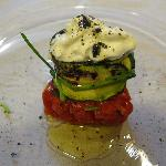 Appetizer of Special dinner at Giglio Bianco