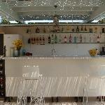 Bar van het hotel
