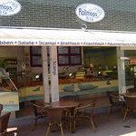 Terrasse Rolmops und Co