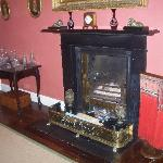 Fireplace in the Dining/Breakfast Room